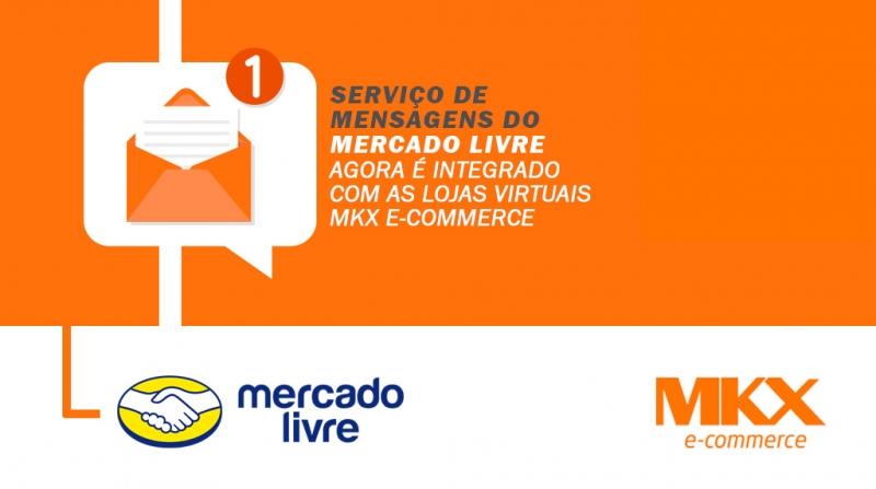 Integração dos pedidos com as mensagens do Mercado Livre.